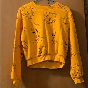 H&M Tweety Bird Sweatshirt